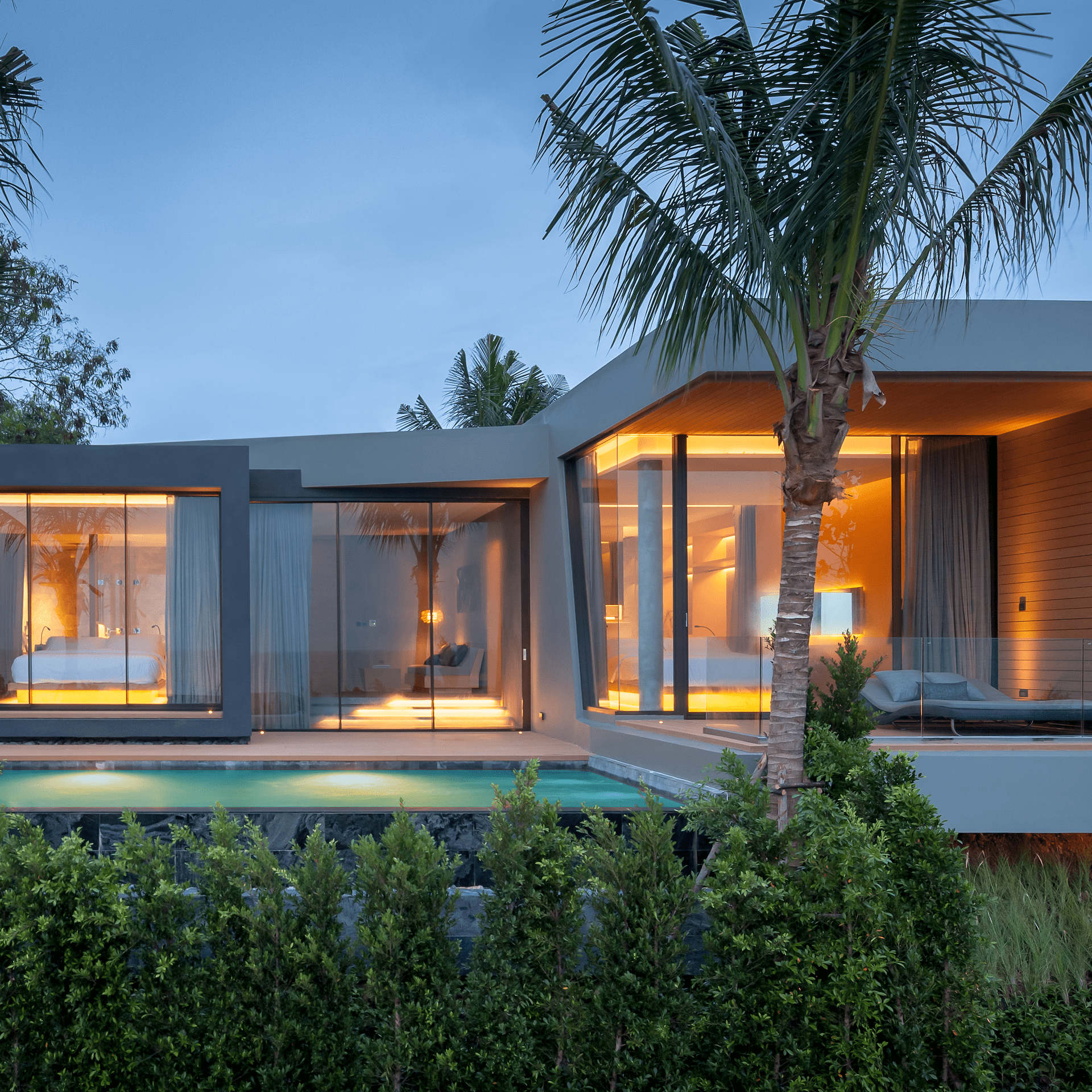 Mason Pattaya Modern Design Grand Pool Villa