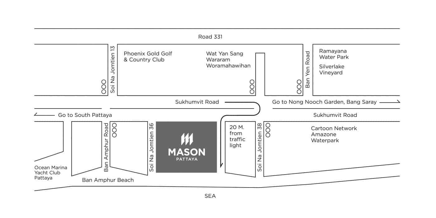 Mason Pattaya Map