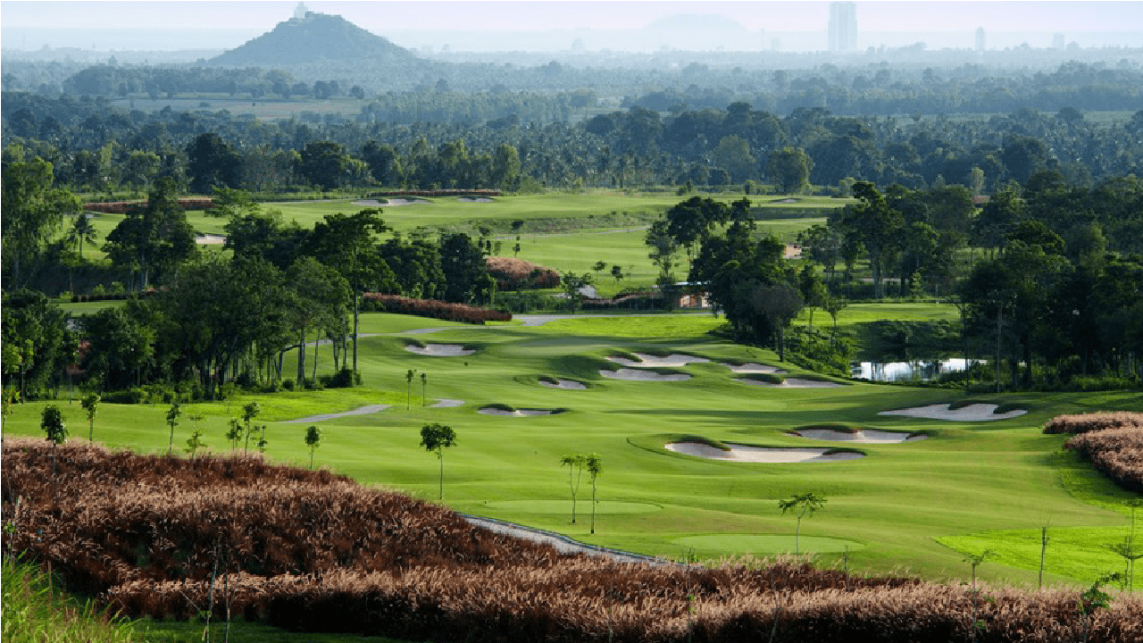 Golfing in Pattaya