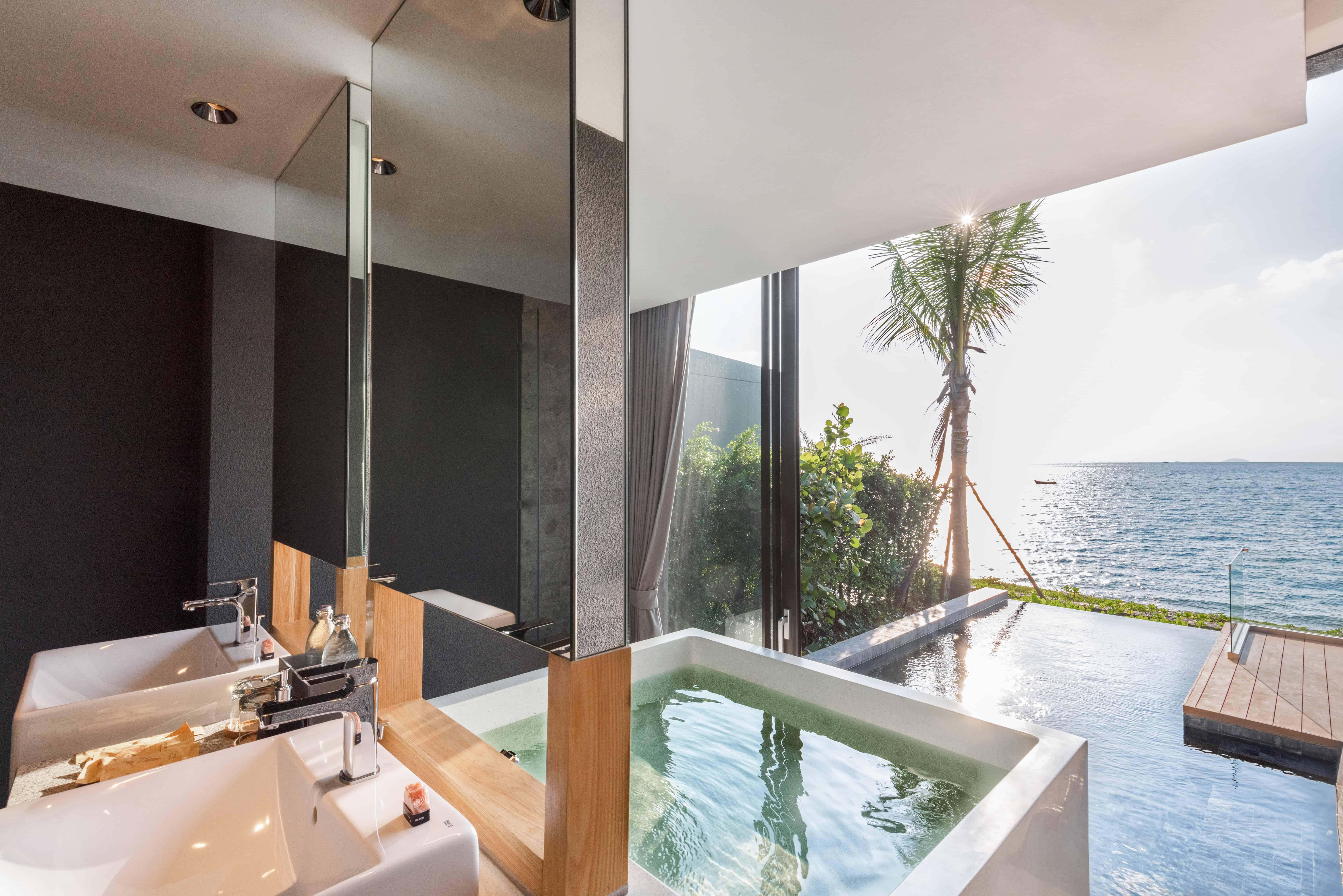 Mason Pattaya Villa - View from Bathroom